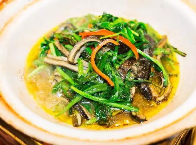 韭菜爆鳝丝